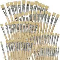 Borstenpinsel Set 72 Stück, je 12 Stk. von 4,6,8,10,12,14